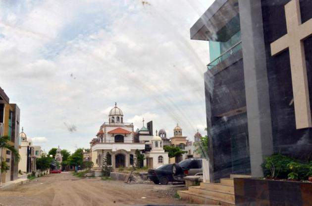 Cementerio Jardines de Humaya en Culiacán.