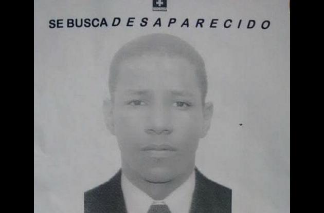 Gabriel Castillo Orozco, joven desaparecido.