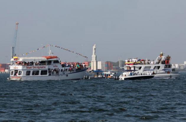 Procesión náutica en honor a la Virgen del Carmen