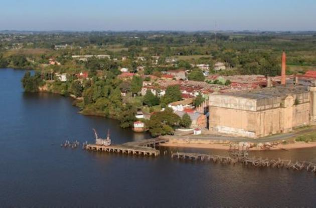 Frigorífico de Uruguay considerado patrimonio mundial por la Unesco.