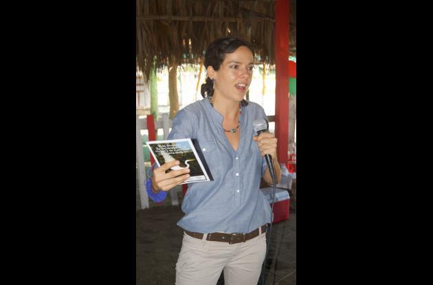Viviana Mourra, directora de Ecoprogreso.
