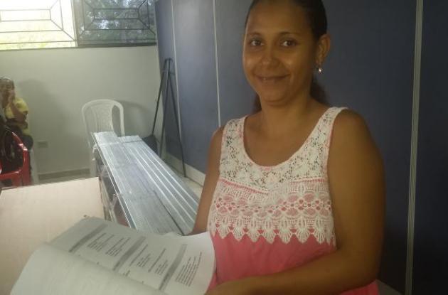 Karla Patricia García Correa, de 32 años, busca empleo como analista de sistemas.