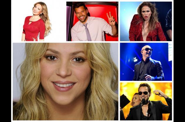 cantantes latinos