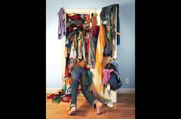 Decídase a sacar toda esa ropa que no usa y que le ocupa espacio valioso en el clóset.
