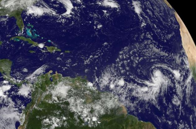 Tormenta tropical Danny.