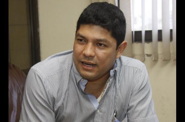Enrique Del Río, abogado de Wu Hong.