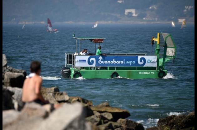 Desfile de botes en Rio de Janeiro