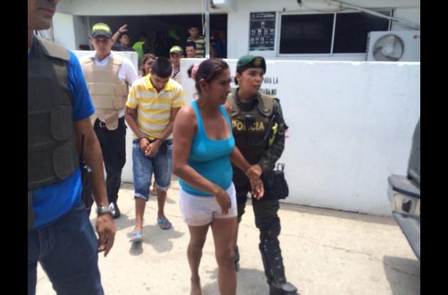 """Con la triple captura se desmanteló la """"Olla de Olga"""" en el municipio de Sampués."""