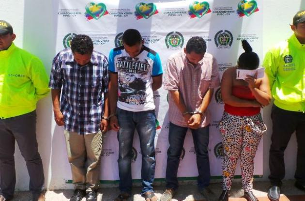 Banda delincuencial 'los Chaguala' Magangué, Bolívar.