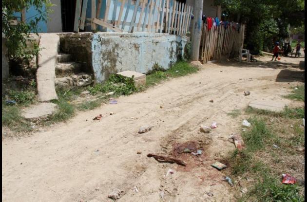 En el sector Virgen del Carmen, en Nelson Mandela, pandilleros mataron a Alberto Garcés.