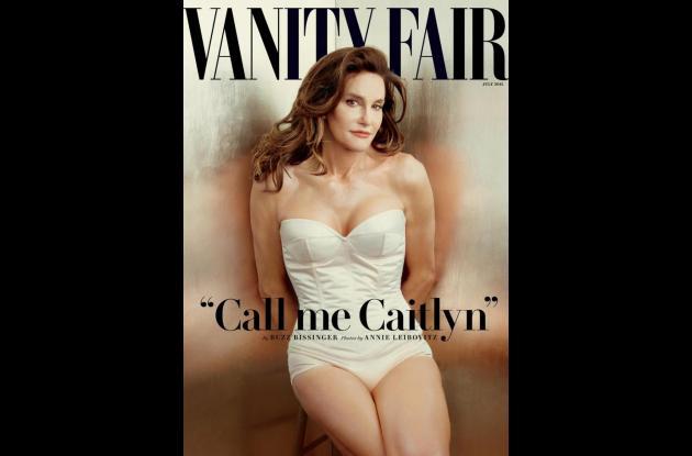 Portada de la revista Vanity Fair  en la que sale Caitlyn Jenner.