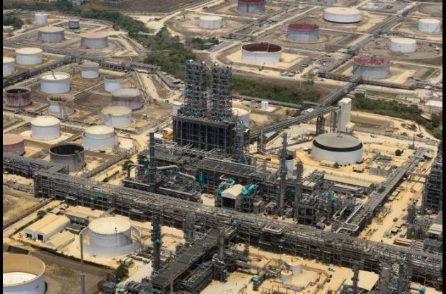 Refinería de Ecopetrol en Cartagena