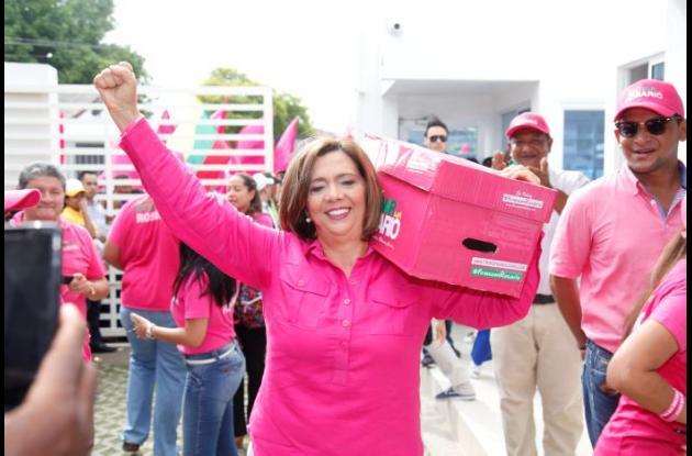 Centro Democrático apoya campaña de Rosario Ricardo.