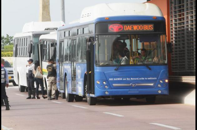 Se espera que Transcaribe empiece a funcionar el 11 de noviembre.