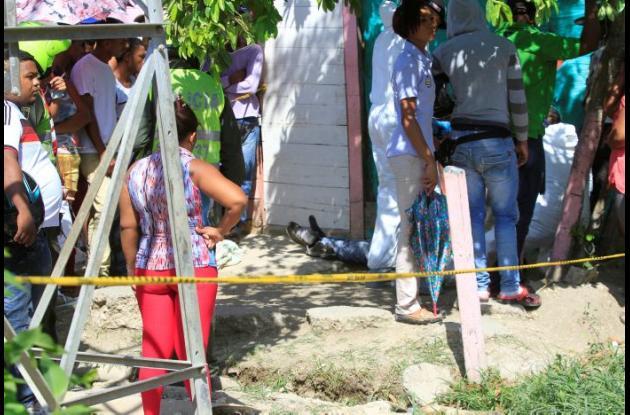 A Dairo Franco lo mataron de un balazo en Villa Corelca.