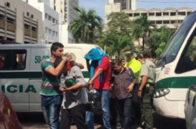 Jueces y fiscal señalado de integrar red de corrupción en Centro de Servicios Judiciales en Barranquilla.