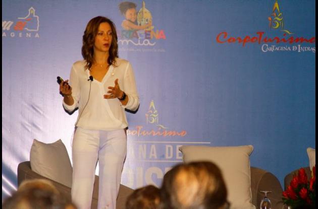 María Claudia Lacouture, presidenta de Procolombia.