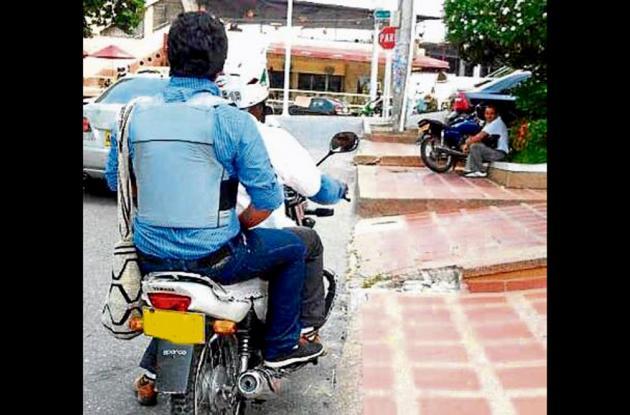 Dos hombres que se movilizaban en una motocicleta dispararon contra el aspirante a la Alcaldía de Los Palmitos.