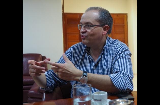 Fernando Carrillo Flórez, embajador de Colombia en España.