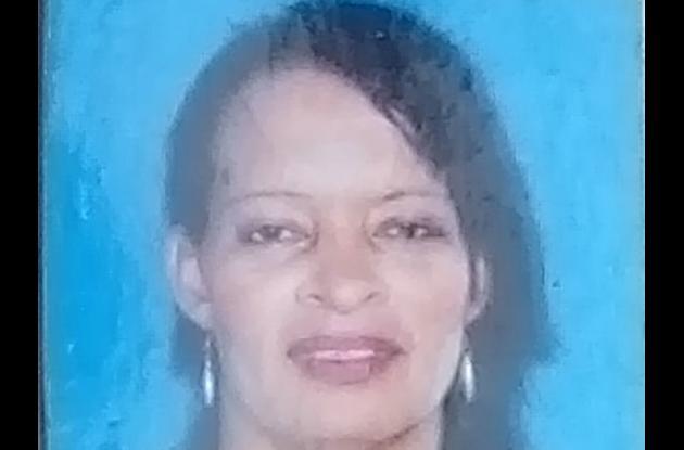 Virna Rebolledo, chancera baleada en San Isidro.