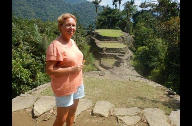 Durdana Brujin, asesinada en las Islas del Rosario.