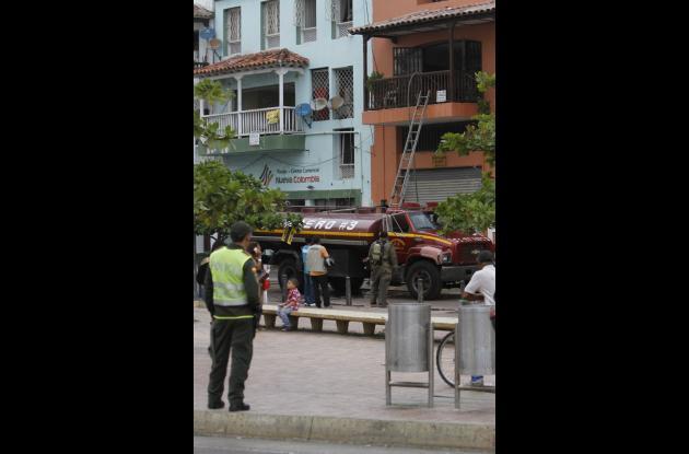 Incendió causó pánico en el Centro Histórico de Cartagena