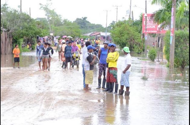 Los barrios más afectados son Playa Hermosa y Villa Nazareth, de Sincelejo.