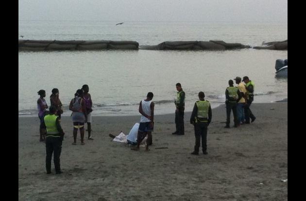 Hallan el cuerpo de joven que se ahogó en Marbella