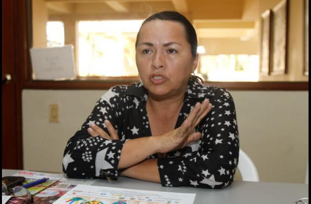 Martha Rodríguez Otálora, directora del Dadis.