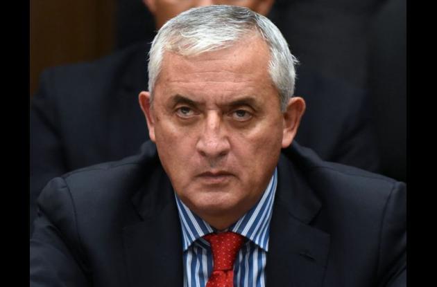 Otto Pérez, expresidente de Guatemala.