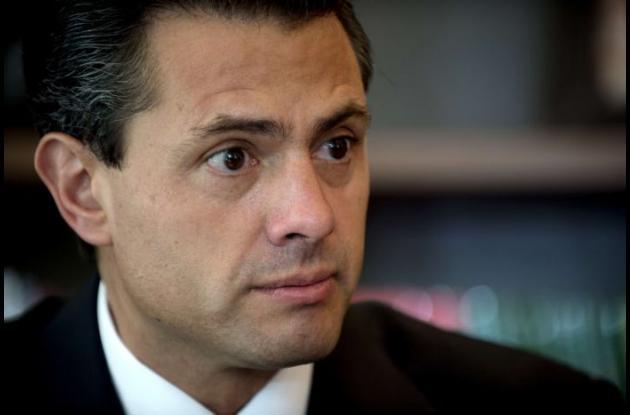 Enrique Peña Nieto, Presidente México.
