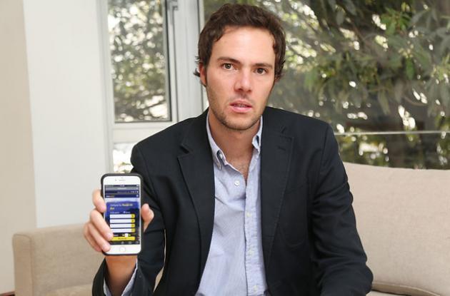 Sebastián Jaramillo, gerente de la plataforma Pinbus.com