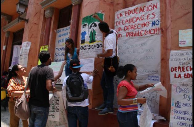 protesta UdeC