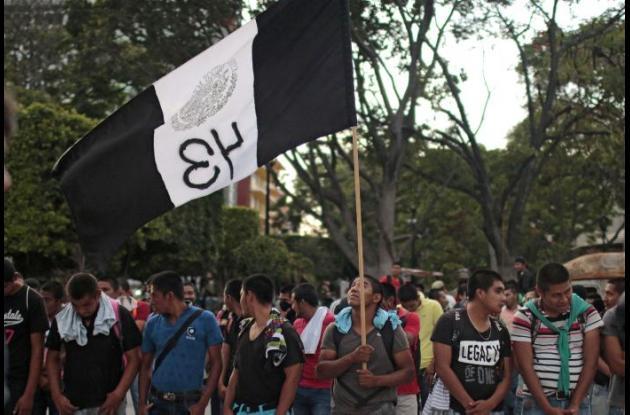Protestas por caso de estudiantes mexicanos asesinados