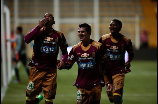 Encuentro Deportes Tolima-Santa Fe.
