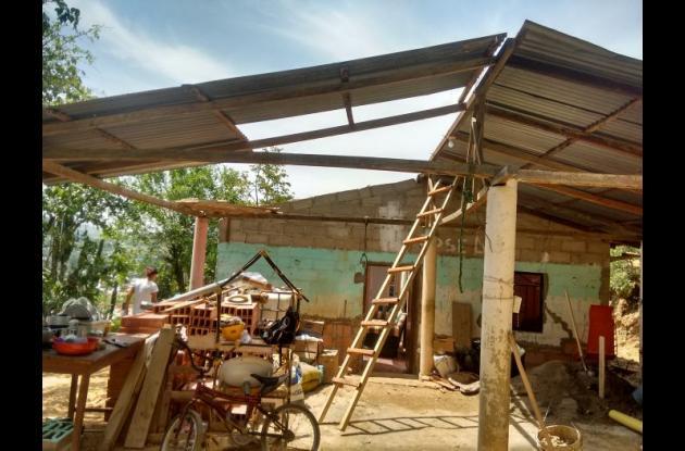 Vendaval afecta viviendas y cultivos en Montes de María