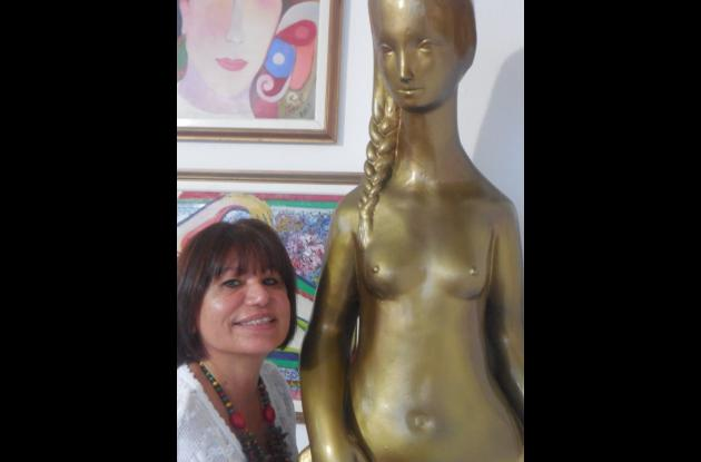 Judith Arrieta, la modelo de la India Catalina de Cartagena.