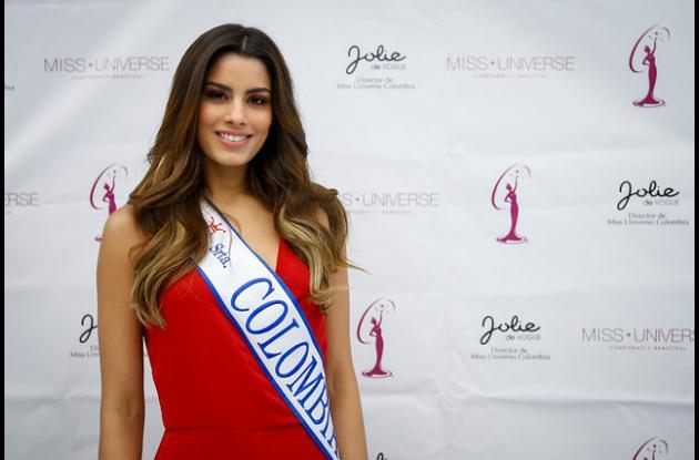 La señorita Colombia, Ariadna Gutiérrez