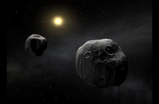 el roce, se producirá a las 12 del día y no es observable a simple vista. Se desplaza a 126.000 kilómetros/hora.