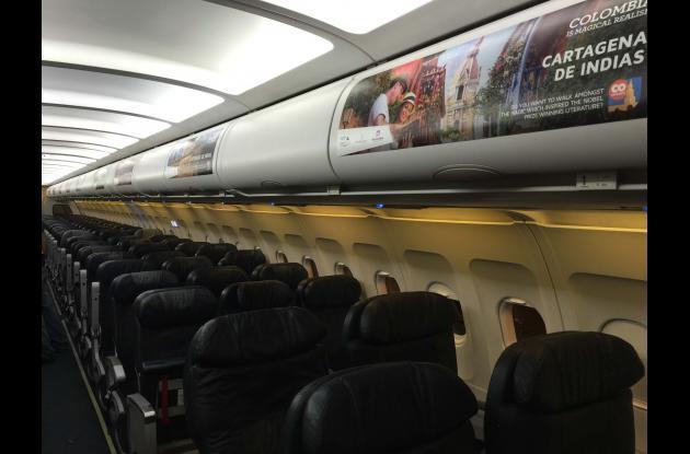 promocion de cartagena en aviones spirit