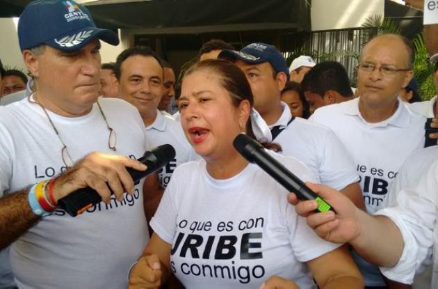 Lo que es con Uribe es conmigo