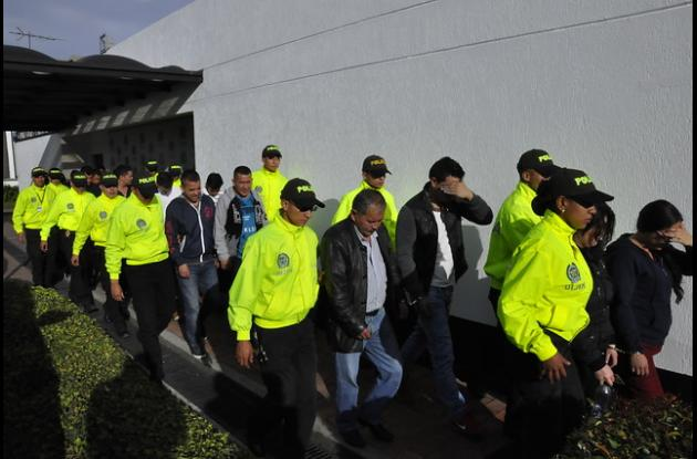 Capturados por la DIJÍN de la Policía en Bogotá, sindicados por una millonaria defraudación informática a la Administradora Colombiana de Pensiones, Colpensiones, cifra que asciende a 627 millones de pesos.