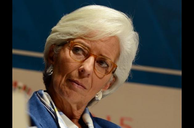 directora gerente del Fondo Monetario Internacional (FMI), Christine Lagarde,