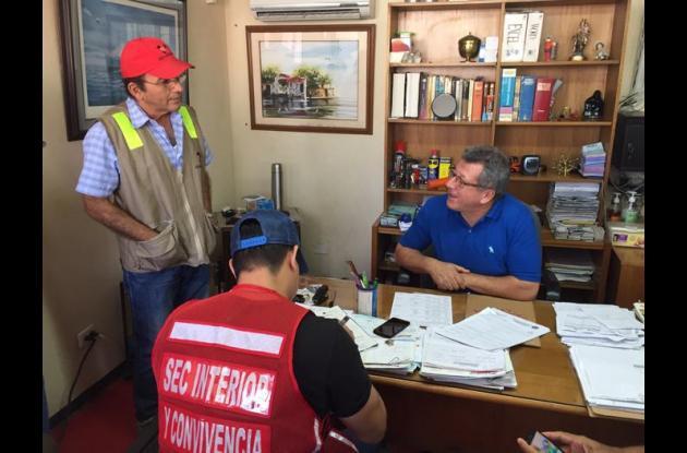 Operativos en patios de contenedores en Cartagena