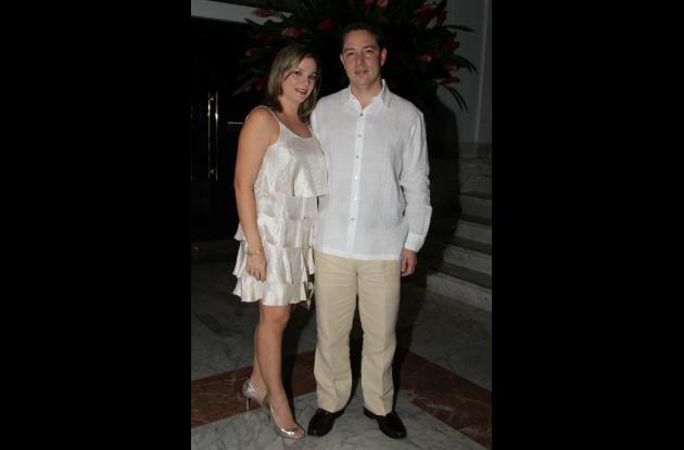 Sara Taboada y Jaime Trucco.