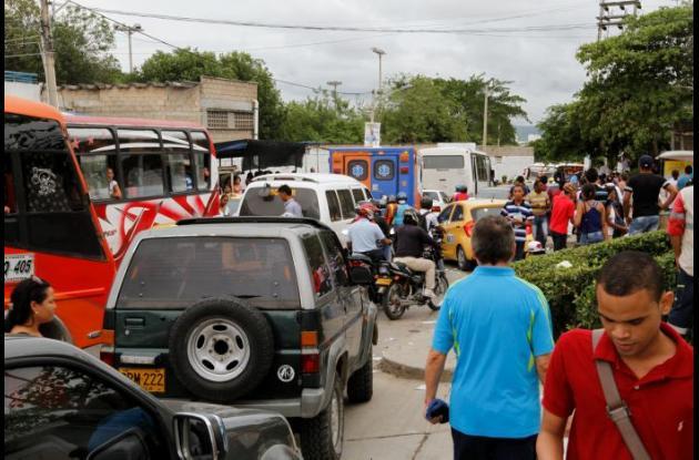 Trancon por examen de Admisión Universidad de Cartagena