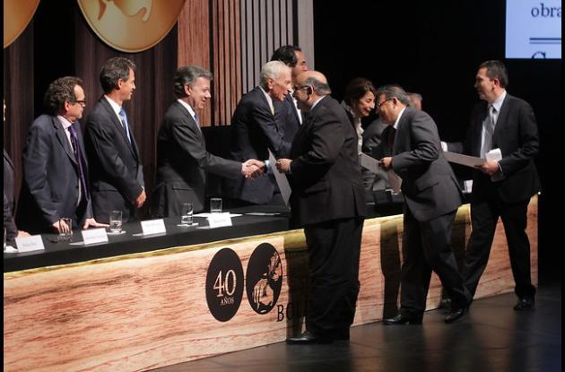 José Granados, Agustin Iguaran y César Muñoz .