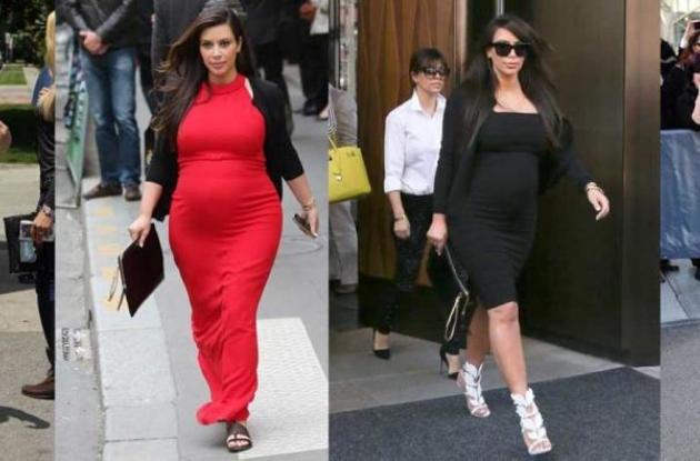 Kim Kardashian descontenta con su embarazo