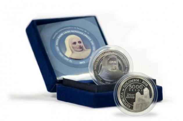 moneda de la madre laura