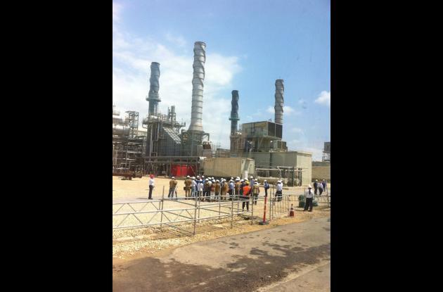 La Refinería recibe hoy la visita del presidente de la República, Juan Manuel Santos.